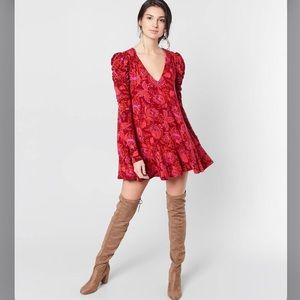 Free people Hello lover Tunic/ Dress- Size-M